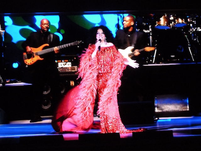Diana Ross at the Hollywood Bowl