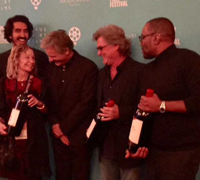 Celebrity Tribute at Napa Valley Film Festival 2016