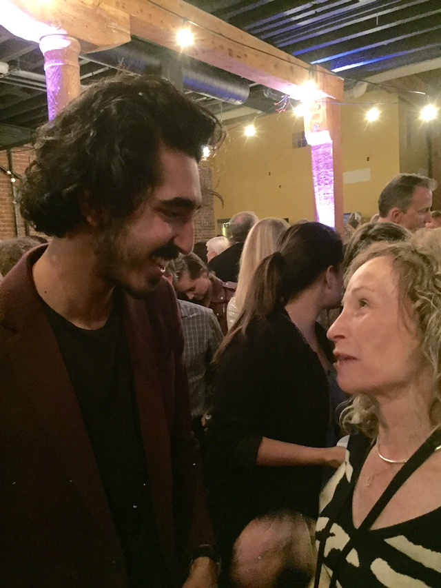 Dev Patel at Napa Valley Film Festival 2016