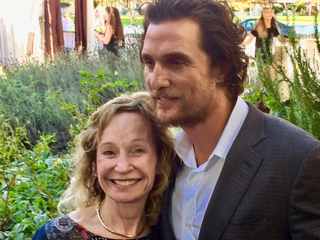 Matthew McConaughey at Napa Valley Film Festival 2016