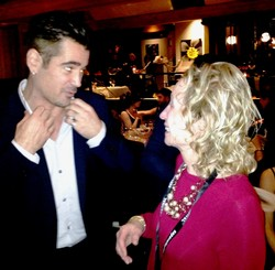 Irene and Colin Farrell Chat About Their Jewelry