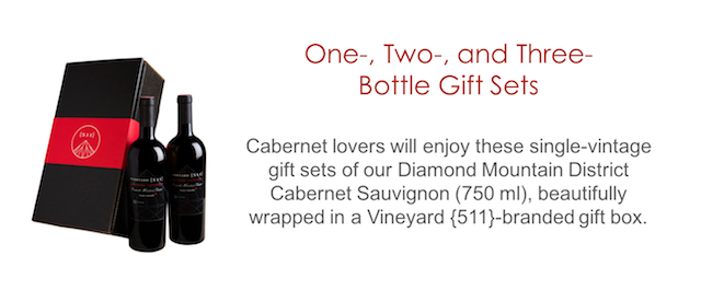 Vineyard {511} One-, Two-, and Three-bottle Gift Sets
