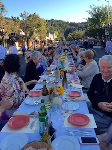 Calistoga's Annual Harvest Table