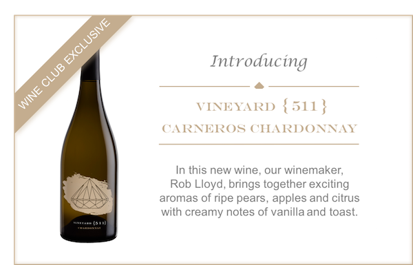 Introducing Vineyard {511} Chardonnay