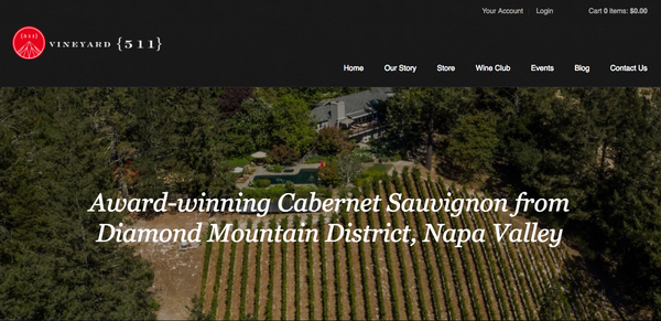 Check out Vineyard {511}'s new website!