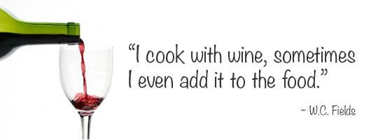 WC Fields Wine Quote