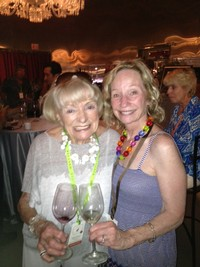 Irene and Margarit Mondavi