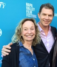 Irene and Bobby Flay at the Napa Valley Film Festival
