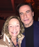 Irene and John Travolta at the NapaValley Film Festival