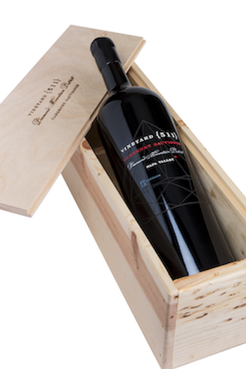 Collector's 3L Bottle of 2014 Cabernet Sauvignon in a Wood Box Image