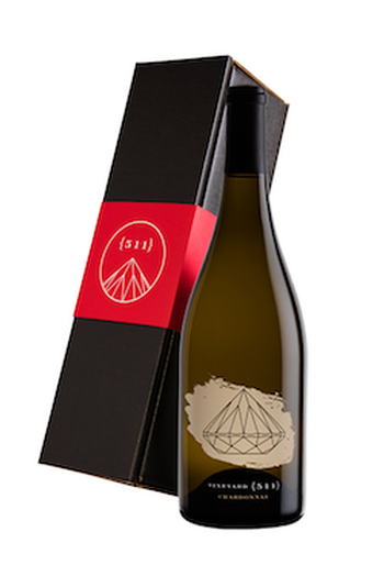 One 2017 Chardonnay Bottle in a Gift Box
