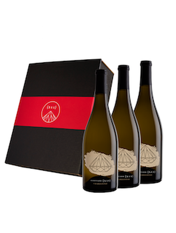Three-bottle 2018 Chardonnay Set in a Gift Box