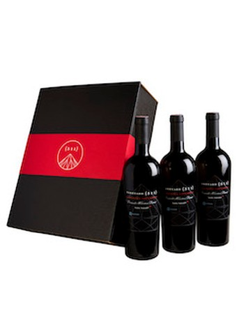 Three-bottle 2015 Cabernet Sauvignon Set in a Gift Box