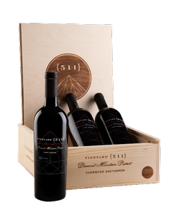 Cabernet Connoisseur's Vertical in a Wood Box