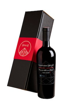 One 2015 Cabernet Sauvignon Bottle in a Gift Box